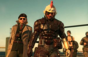 Metal Gear Solid The Phantom Pain Chicken Helmet