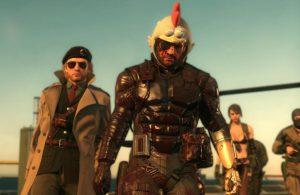 Metal Gear Solid The Phantom Pain Chicken Helmet