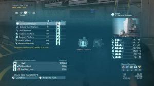 Metal Gear Menu